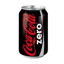Lata de Coca-cola 0 (33cl)