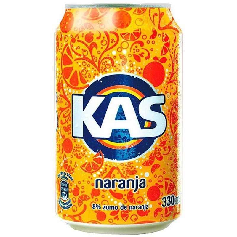 Lata Kas de Naranja (33cl)
