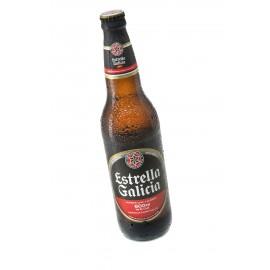 Botellin de cerveza Estrella Galicia (20cl)