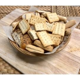 Cestita pequeña rellena de panes surtidos (4-7 pers.)
