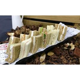 Mini sandwiches variados (Bandejas de 12 Unidades)